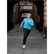 PT Ladies Running Rain Jacket Turquoise/Black 12 (36inch)