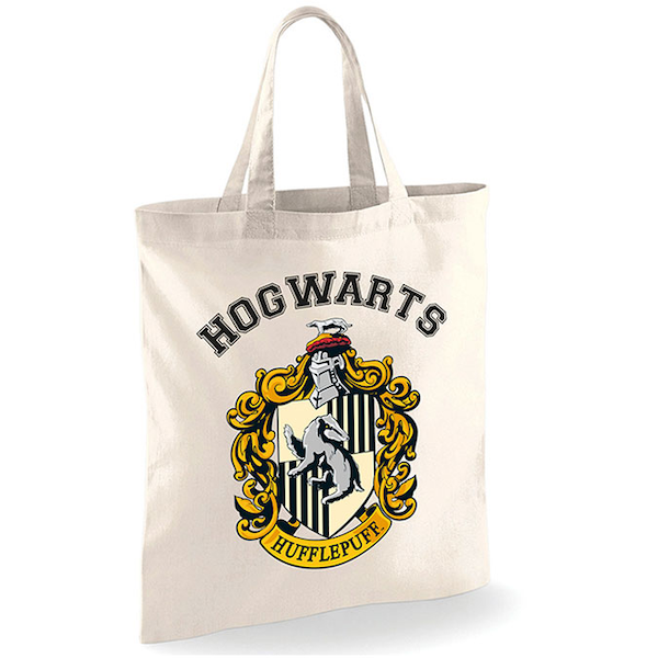 Harry Potter - Hufflepuff Bag - White