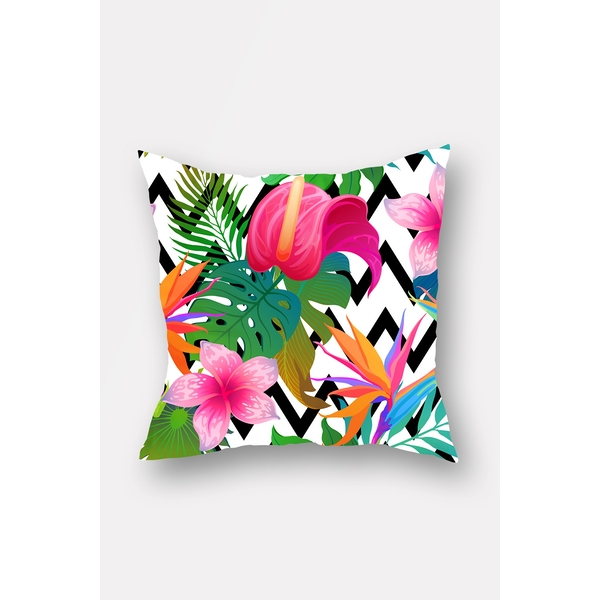 YS600607712 Multicolor Floral Cushion Cover