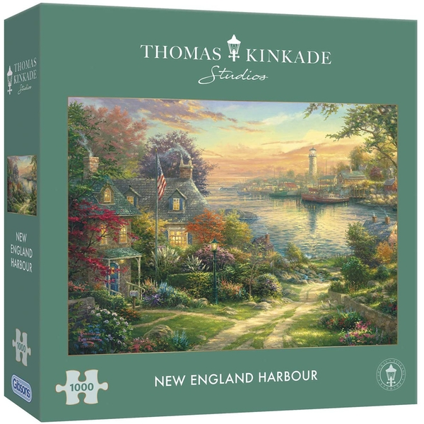 Gibsons New England Harbour Jigsaw Puzzle - 1000 pieces