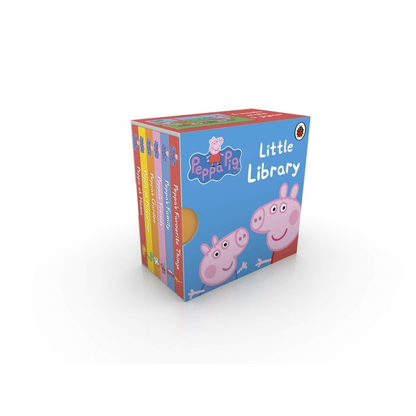 Peppa Pig: Little Library by Ladybird (Board book, 2009)