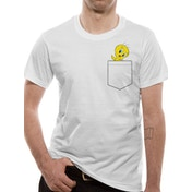 Looney Tunes - Bugs Pocket Men's Medium T-Shirt - White