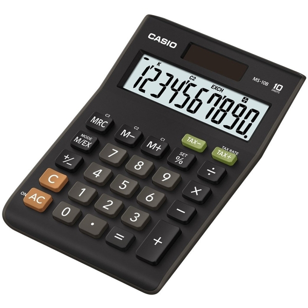 Casio MS10B-S Large Display 10 Digit Calculator