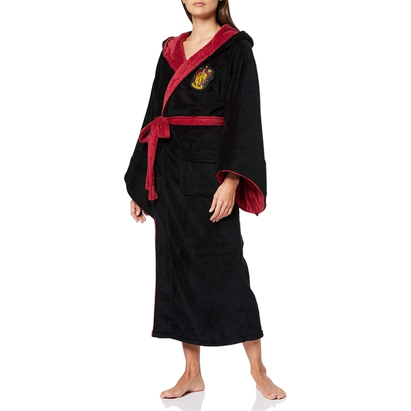 Harry Potter Gryffindor Womens Bathrobe - Image 1