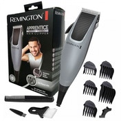 Remington HC5019 Apprentice Corded 10 piece Hair Clipper Silver UK Plug