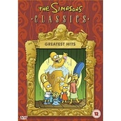 The Simpsons Greatest Hits DVD