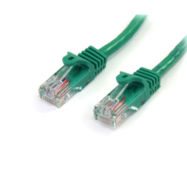 10 ft Cat5e Green Snagless RJ45 UTP Cat 5e Patch Cable - 10ft Patch Cord