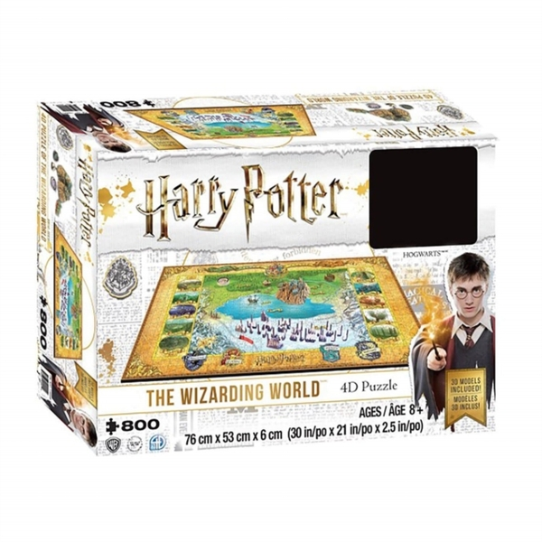 Harry Potter The Wizarding World 4D Puzzle (892 Pieces)
