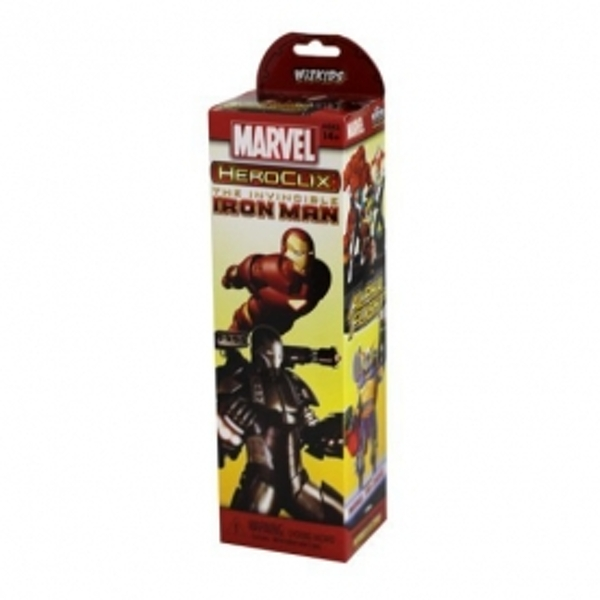 Marvel Hero Clix The Invinceible Iron Man Brick Case of 10 Board Game