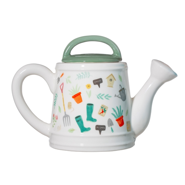 Sass & Belle Leafy Living Watering Can Teapot