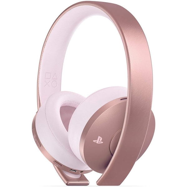 Sony Gold Black Wireless 7.1 Gaming Headset Rose Gold PS4