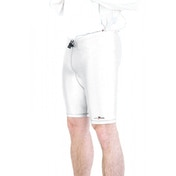 Precision Lycra Shorts White 34-36