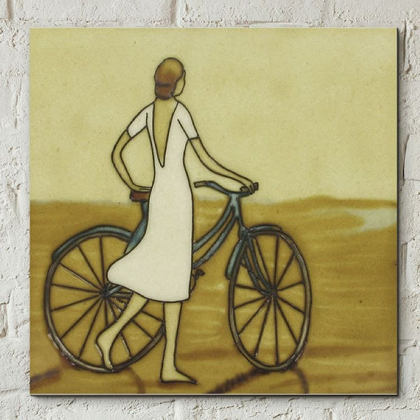 Seaside Stroll Wall Tile By Dominguez