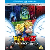 Dragon Ball Z Movie Collection Five: The Broly Trilogy - DVD/Blu-ray Combo