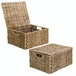 Seagrass Storage Basket with Lid | M&W - Image 4