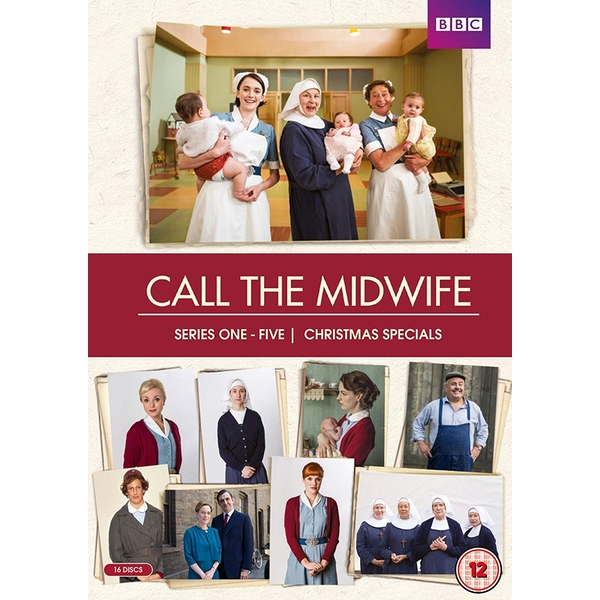 Call The Midwife Series 1-5 DVD