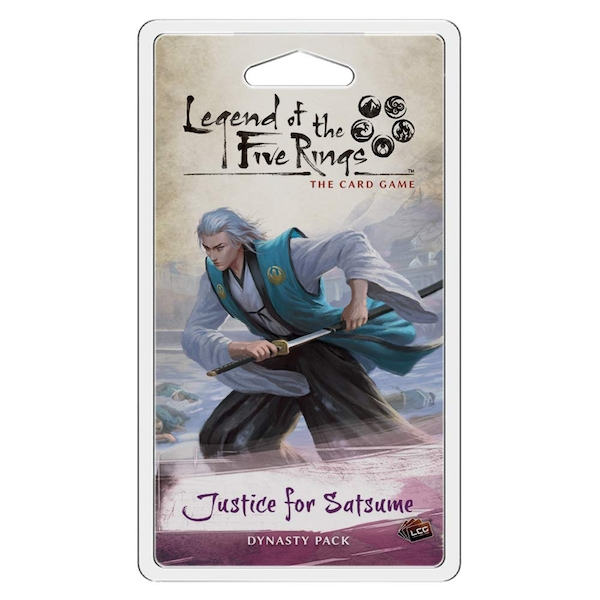 Legend Of The Five Rings LCG Justice for Satsume Dynasty Pack