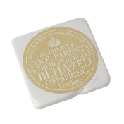 Square Coaster  Cool Parents By Heaven Sends