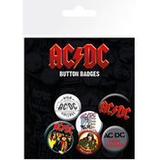 AC/DC Mix Badge Pack