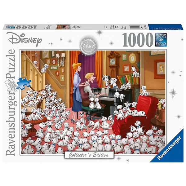 Ravensburger Disney Collector's Edition 101 Dalmations 1000 Piece Jigsaw Puzzle