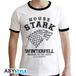Game Of Thrones - House Stark Men' Small T-Shirt - White - Image 2