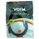 VCOM 3.5mm (M) Stereo Jack to 3.5mm (M) Stereo Jack 3m Black Retail Packaged Cable