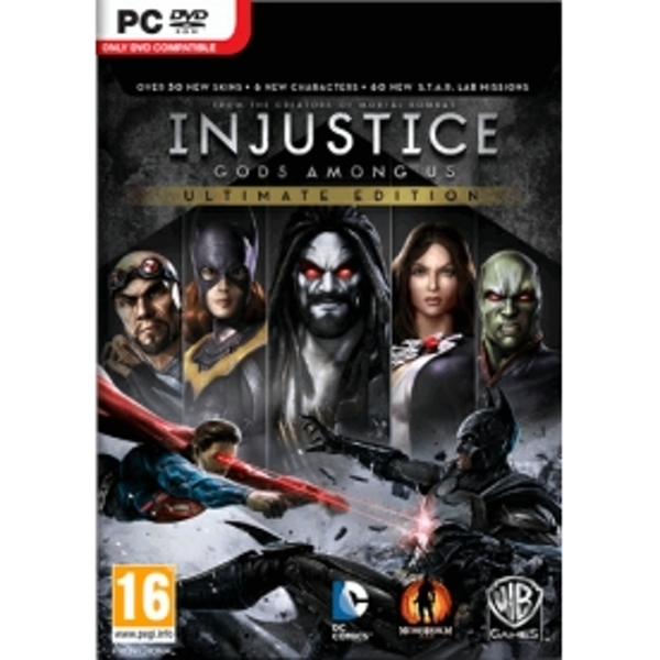 Injustice Gods Among Us Ultimate Edition Game Of The Year (GOTY) Game PC