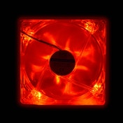Evo Labs 120mm 1000RPM Red LED OEM Fan