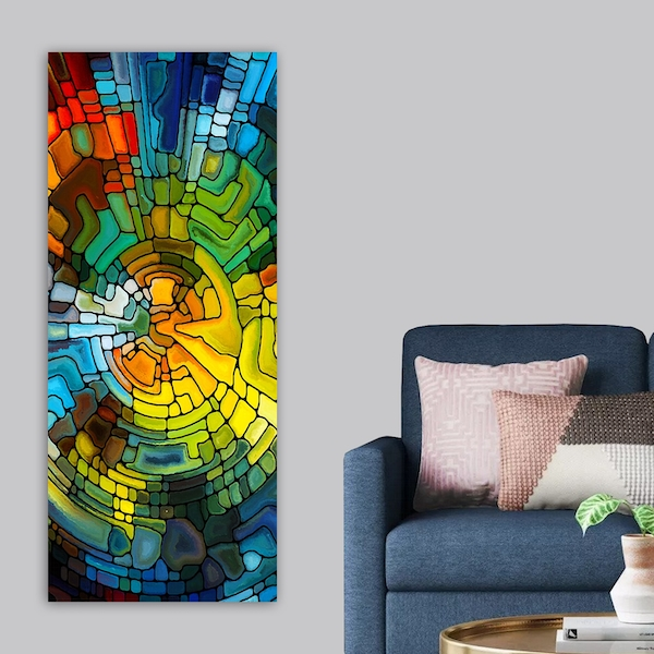 DKY3229038481_50120 Multicolor Decorative Canvas Painting