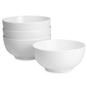 Set Of 4 Porcelain 600ml Bowls | M&W
