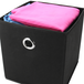Set of 6 Collapsible Storage Boxes | M&W Black - Image 3