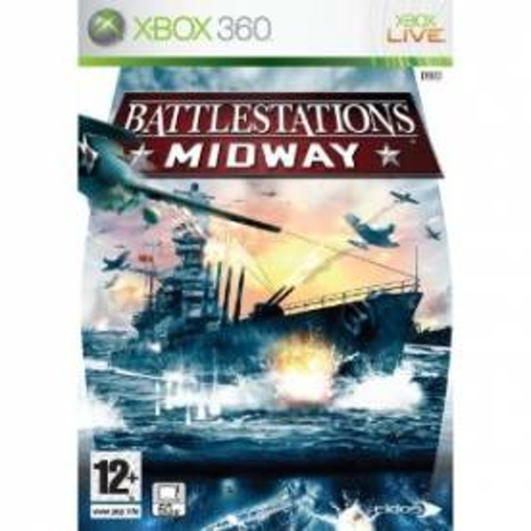 Battlestations Midway Game Xbox 360