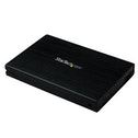 StarTech 2.5 inch Enclosure for USB 3.0 External SATA III Solid State Hard Drive Aluminum