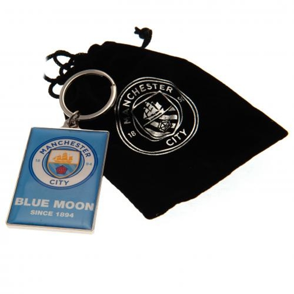 Manchester City FC Deluxe Keyring