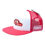 Fallout - Nuka World Trucker Cap - White/Red