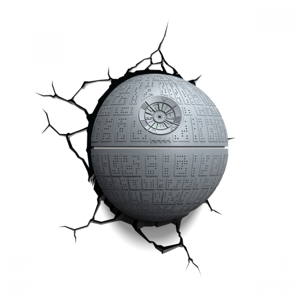 Ex-Display Death Star 3D Deco Light (Star Wars) by 3D Light FX Used - Like New - Image 1