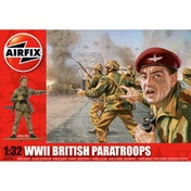 Airfix WWII British Paratroops Vintage Classics Figures 1:32 Scale Model Kit
