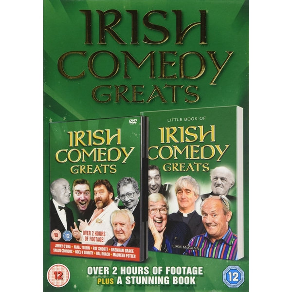 Irish Comedy Greats DVD (Book Gift Set) - Image 1