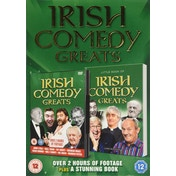 Irish Comedy Greats DVD (Book Gift Set)