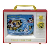Ex-Display Fisher Price Childrens Classics Two Tune TV Used - Like New