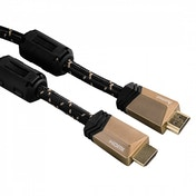 Hama High Speed HDMI Cable Plug - Plug Ferrite Metal Ethernet 5m