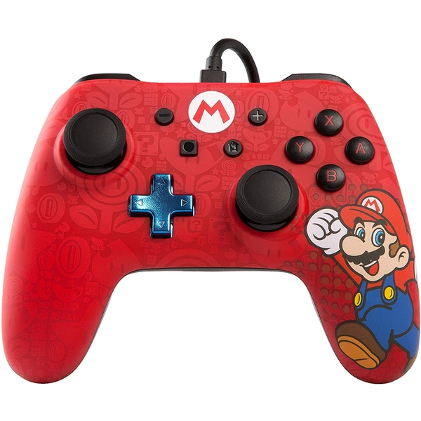 PowerA Mario Wired Nintendo Switch Controller [Damaged Packaging]