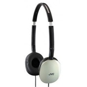 JVC Flats Noise Cancelling Lightweight Headphones