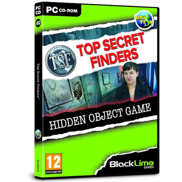 Top Secret Finders Hidden Object Game for PC (CD-ROM)