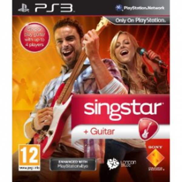 SingStar Guitar Star Solus Game PS3