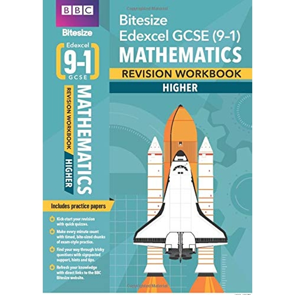 BBC Bitesize Edexcel GCSE (9-1) Maths Higher Workbook  Paperback / softback 2018