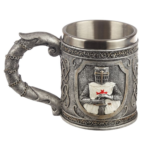 Decorative Knight Tankard
