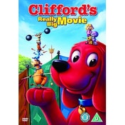 Clifford's Really Big Movie DVD