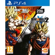 Dragon Ball Xenoverse + Dragon Ball Xenoverse 2 PS4 Game