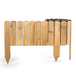 Wooden Spiked Lawn Edging | M&W 20cm - Image 3
